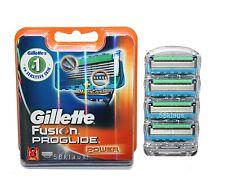4 Gillette Fusion ProGlide Power Rasierklingen 4x original im Blister 4er Set