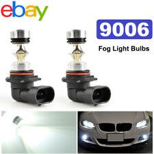 2x 9006 HB4 High Power LED Fog Driving DRL Light Bulbs Headlight kit 6000K White