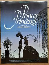 Plakat Prinzenzepter Und Prinzessinnen Michel Ocelot 40x60cm