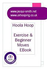 """ADULT 38"""" HULA HOOP+ HOOLA TEACHING E BOOK WHITE & GREY"""