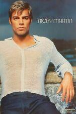 "RICKY MARTIN ""SOUND LOADED"" 2-SIDED U.S. PROMO POSTER - Latin Pop Music Legend"