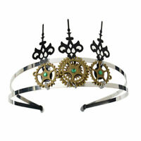 Lolita Girls Steampunk Gear Headband Gothic Punk Hairband Party Costume Headwear