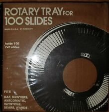 Vintage Rotary Tray For 100 Slides, New Sealed, by Airequipt Made In USA