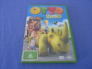 Otto the Rhino DVD R2,4 Free Postage