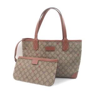 Gucci Tote Bag GG Tote Bag Pinks PVC 1723598