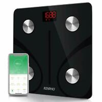 RENPHO Bluetooth Body Fat Scale, Digital Body Weight Bathroom Scales Weighing