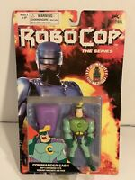 "ROBOCOP The Series Commander Cash Action Figure 4.5"" Toy Island 1994 Sealed"