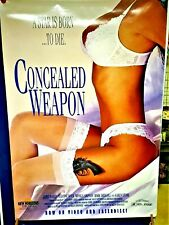 CONCEALED WEAPON - movie poster