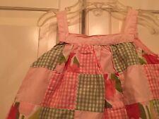 Gymboree Tulip Garden 12-18 mth Patchwork Dress