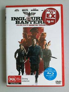 Inglorious Basterds DVD Christopher Waltz Brad Pitt Quentin Tarintino Classic