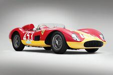 VINTAGE 1957 FERRARI 500 TRC RACE CAR POSTER PRINT STYLE B 24x36 HIGH RES
