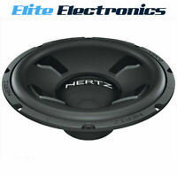 "HERTZ DS30.3 DIECI SERIES 12"" 4-OHM SVC 250W RMS CAR SUBWOOFER"