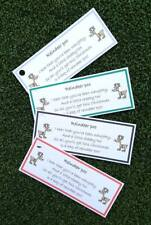10 x Magic Reindeer Poo Tags Labels Christmas Magic Novelty Xmas Eve Box