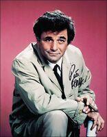 3 Photos 8x10 of Peter Falk Columbo hand Signed Autograph Reprints NEW