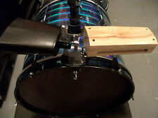 NEW Cowbell & Woodblock Set w/Bass Drum Mount-Holder. Great Percussion Add-Ons!