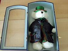 40cm Teddy Bear Dressed As A Magician With A Stand & In A Case - BNIB - FREE P&P