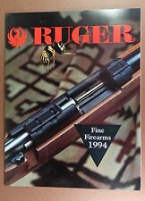 1994 Ruger Firearms CATALOG RIFLES SHOTGUT PISTOLS #1 MINI 223