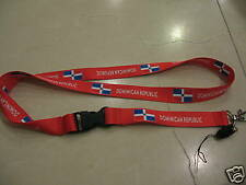 Dominican Republic Lanyard / Dominican Republic Flag