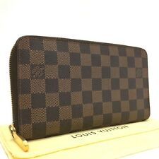 Authentic Louis Vuitton Damier Organizer de Voyage Travel Case Long Wallet /400