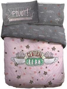 Friends Central Perk Reversible Duvet Cover Set & Pillowcase Single Double King