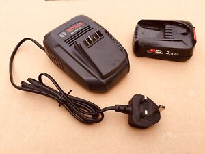 bosch 18v battery and charger