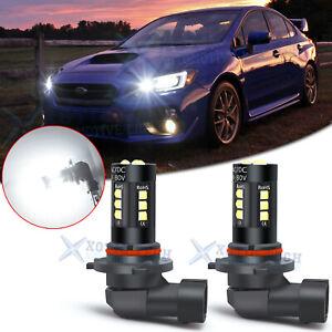 LED High Beam Daytime Running Light Bulbs DRL For Subaru Impreza WRX STI Legacy