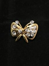 Uk Seller Auction Only - 10 Gold Plated Brooch Wedding Xmas Gift Stockings