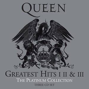 Album Queen Greatest Hits Volume I II III Platinum Collection Best of Freddy