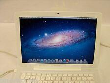 "Apple MacBook 13.3""  A1181 INTEL C2D 2.0/2.2/2.4 GHZ 2GB 120GB LION OS LOT OF 7"