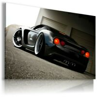 FORD GT BLACK Super Sport Car Wall Canvas Picture ART  AU311 UNFRAMED-ROLLED