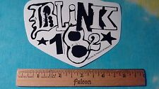 Blink - 182 Black & White 5 x 3.5 Inch Sticker