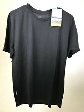 ICEBREAKER Men's Superfine Merino Wool Tech Lite DARK GREY T-Shirt MEDIUM - NEW