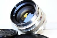 RARE SILVER EXPORT MIR-1 GRAND PRIX Brussels 37mm f/2.8 Wide Angle USSR SLR lens