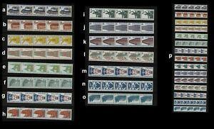 Berlin SWK R, 5-er Streifen Rollenmarken mit Nummer **; bitte auswählen! c729
