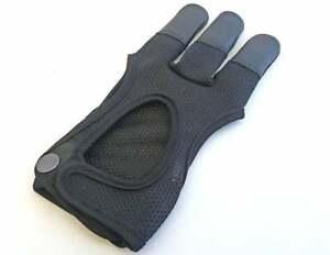 Archery gloves 3 Finger Gloves Shooting Glove/Archery Mesh Gloves