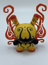 Kidrobot Dunny series 2013 (Sideshow) Yellow Deeper Issues by Andrew Bell