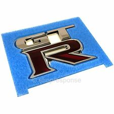 OEM Nissan 08-17 GT-R R35 Rear Bumper GTR Emblem Badge 84894-JF00A Genuine