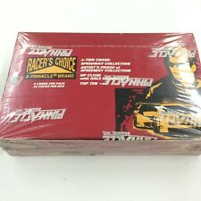 1996 PINNACLE NASCAR RACING TRADING CARD BOX (36 PACKS)