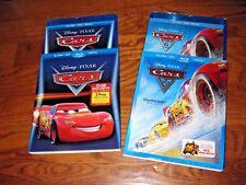Lot of [2] Cars 1 & 3] Disney PIXAR (Blu-ray+ DVD+ Digital 2017) New + Fast Ship