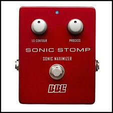 BBE Sonic Stomp Box Maximizer Guitar Bass Effects Pedal