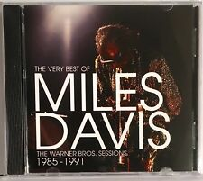 MILES DAVIS - THE WARNER BROS SESSIONS 1985-1991, THE VERY BEST OF, CD ALBUM.