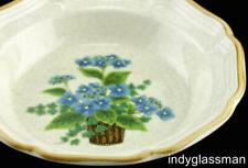 Mikasa Garden Club BELLS OF BLUE Soup & Cereal Bowl UNUSED (5 left)