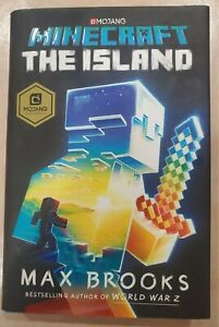 The Island An Official *MINECRAFT* Hardcover Novel Book *Max Brooks* (2017)
