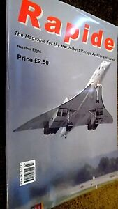 RAPIDE #8 THE MAGAZINE FOR THE NORTH-WEST VINTAGE AVIATION ENTHUSIAST (2003)