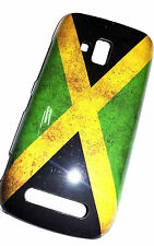 COVER NOKIA LUMIA 610 CUSTODIA BANDIERA FLAG JAMAICA VINTAGE case bumper GIAMAIC