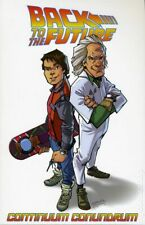 Back to the Future Tpb #2A-1St Nm 2016 Stock Image