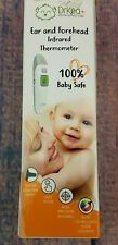 Ear and Forehead Thermometer For Fever Digital Medical Baby By DrKea