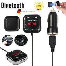 Bluetooth FM Transmitter Auto MP3 Player LCD Freisprechanlage USB SD AUX KFZ Kit