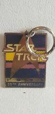 Vintage 1991 STAR TREK 25th ANNIVERSARY STAR TREK KEYCHAIN