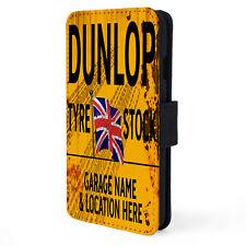 Personalise DUNLOP TYRES Garage iPhone Case Retro Vintage Mechanic Dad Gift OC09
